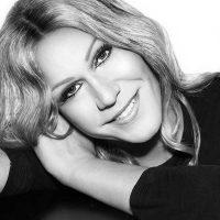 Céline Dion Visage Noir et Blanc