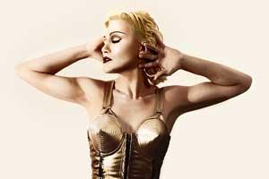 Personnificateur professionnel (sosie) de Madonna